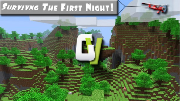 How to Survive the First Night in Minecraft   Tutorial