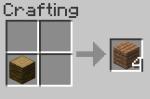 minecraft wooden plank