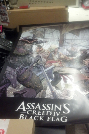 Assassin's Creed IV Black Flag Poster